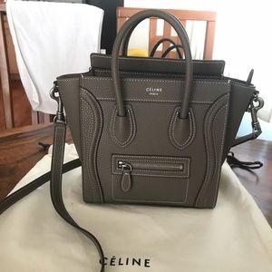 Celine Bags - Authentic Céline Nano Luggage